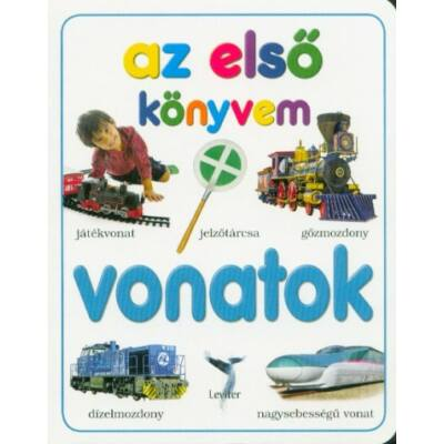 Az első könyvem - Vonatok